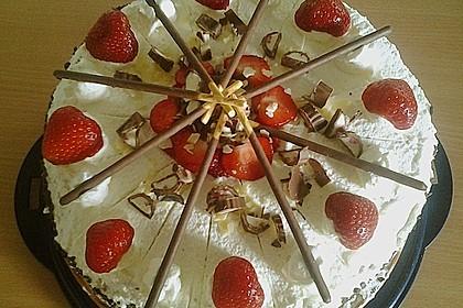 Erdbeer - Yogurette - Torte 87