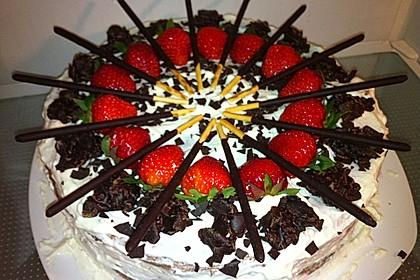 Erdbeer - Yogurette - Torte 77
