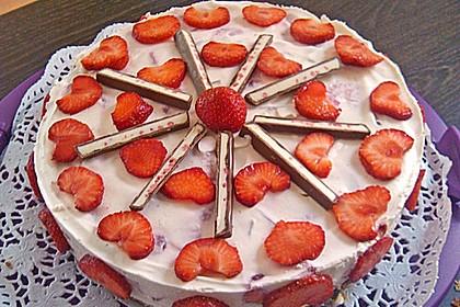 Erdbeer - Yogurette - Torte 18