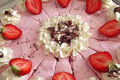 Erdbeer - Yogurette - Torte 21