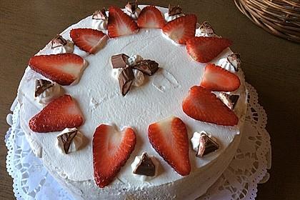 Erdbeer - Yogurette - Torte 42