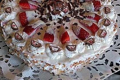 Erdbeer - Yogurette - Torte 29
