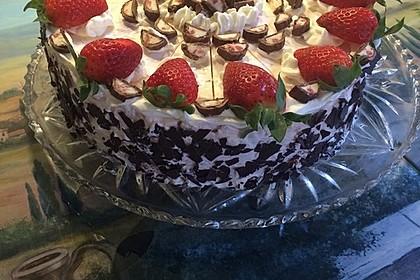 Erdbeer - Yogurette - Torte 10
