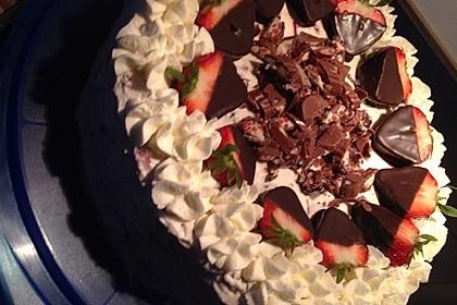 Erdbeer - Yogurette - Torte 48
