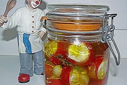 Gefüllte Tomaten mit Frischkäse 1