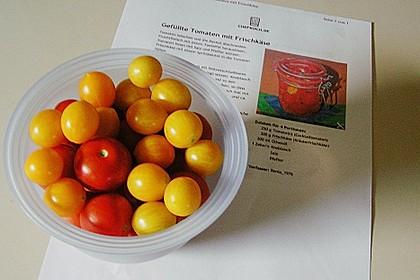 Gefüllte Tomaten mit Frischkäse 12