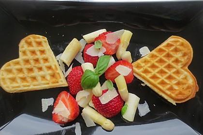 Spargel - Erdbeer Dessert 3