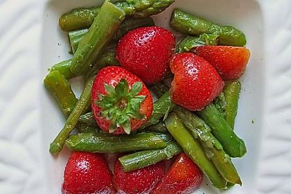 Spargel - Erdbeer Dessert 1