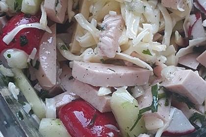 Wurstsalat mit Radieschen 8