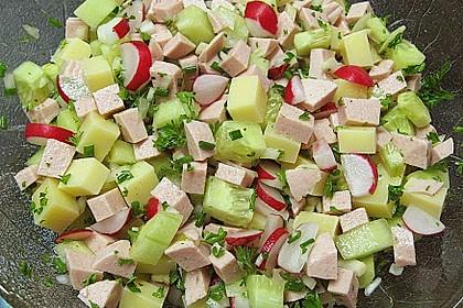 Wurstsalat mit Radieschen 6