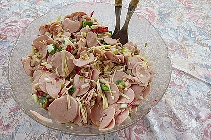 Wurstsalat mit Radieschen 7