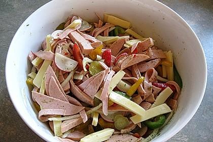 Wurstsalat mit Radieschen 9