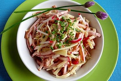 Wurstsalat mit Radieschen 2
