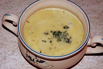 Champagner - Senf - Suppe 21