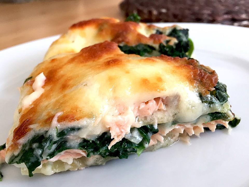 Spinat Lachs Lasagne Von Spatz Nbg Chefkoch