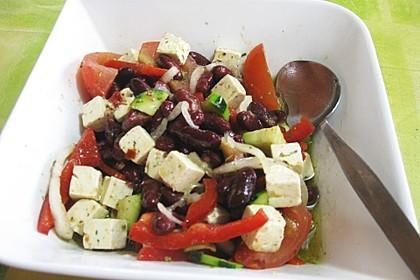 Griechischer Bauernsalat mit Feta 13