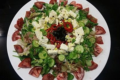 Griechischer Bauernsalat mit Feta 1