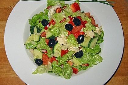 Griechischer Bauernsalat mit Feta 17