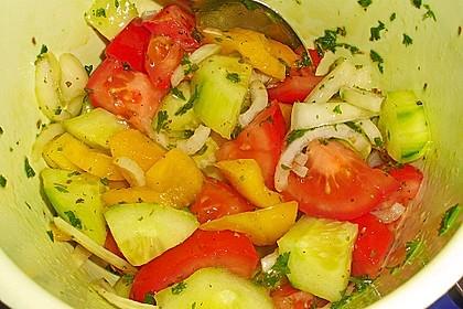 Griechischer Bauernsalat mit Feta 16