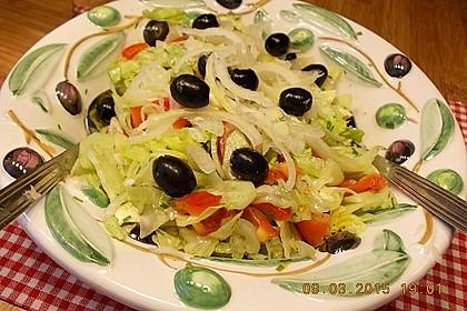 Griechischer Bauernsalat mit Feta 8