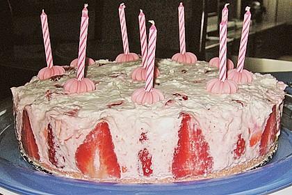 Erdbeer - Sekt - Torte 24