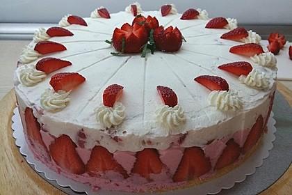Erdbeer - Sekt - Torte 6