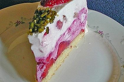 Erdbeer - Sekt - Torte 17