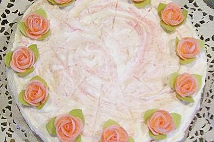 Erdbeer - Sekt - Torte 13