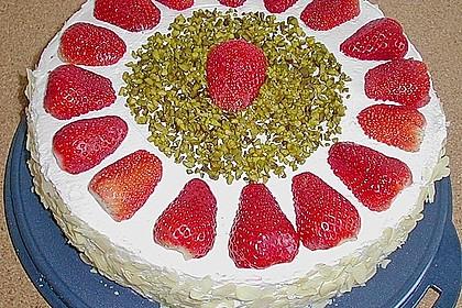 Erdbeer - Sekt - Torte 15