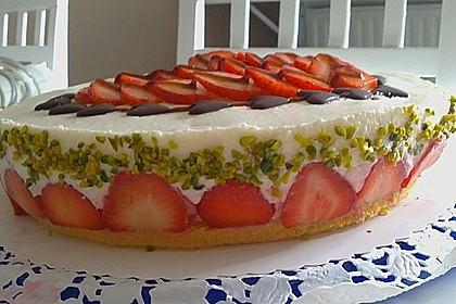 Erdbeer - Sekt - Torte 5