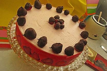Erdbeer - Sekt - Torte 18