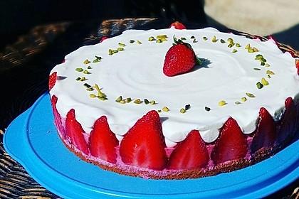 Erdbeer - Sekt - Torte 8