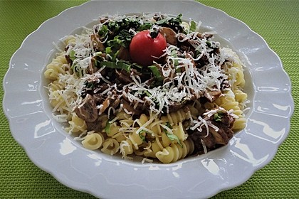 Bärlauch - Spaghetti 6