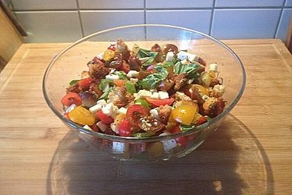 Mediterraner Tomatensalat 3