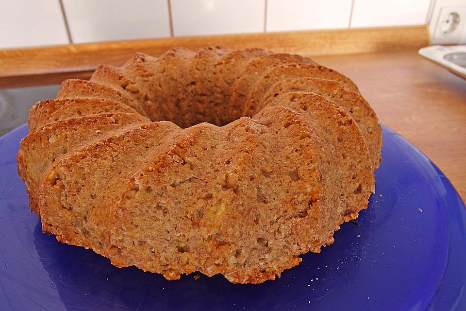 Veganer Bananen Haferflocken Kuchen Von Petitef Chefkoch De