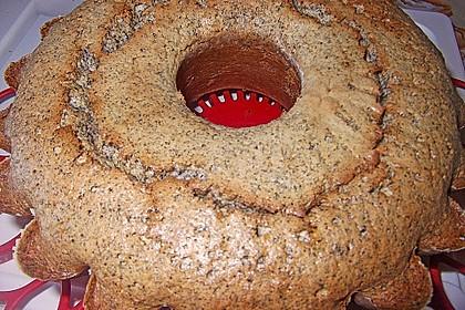 Schneller Mohn-Amaretto-Kuchen