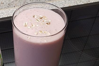 Erdbeer-Kefir-Shake (Bild)