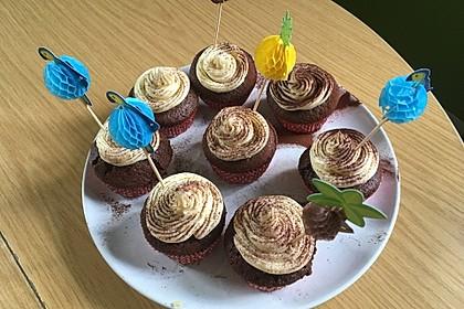 Irish Car Bomb Cupcakes oder Torte 3