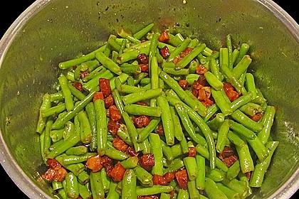 Grüne Bohnen mit Speck 17
