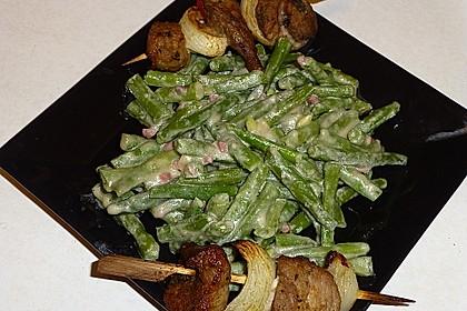 Grüne Bohnen mit Speck 25