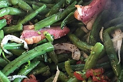 Grüne Bohnen mit Speck 9