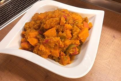 Kürbis-Curry vegan 4