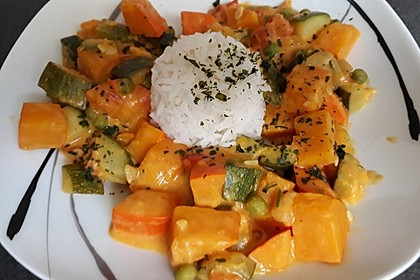 Kürbis-Curry vegan 2