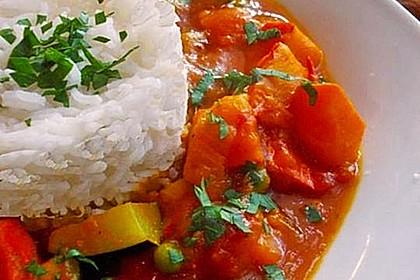 Kürbis-Curry vegan