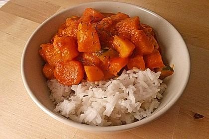Kürbis-Curry vegan 5