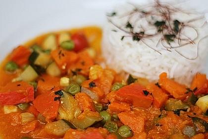 Kürbis-Curry vegan 1
