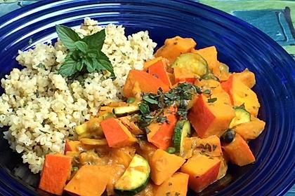 Kürbis-Curry vegan 3