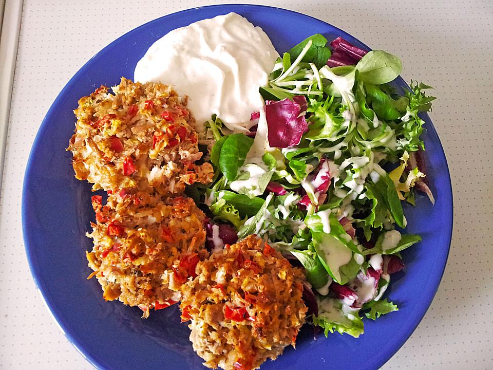 Low Carb Gemüse-Thunfisch-Muffins von smili20 | Chefkoch