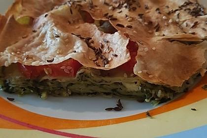 Spinat-Tomate-Feta-Börek vom Blech 23