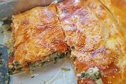 Spinat-Tomate-Feta-Börek vom Blech 15